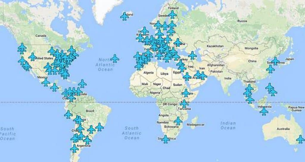 Wifi Passwords for Airports Around the World