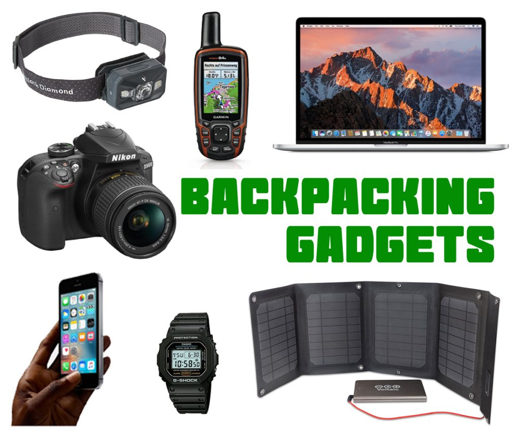 Backpacking Gadgets Checklist Digital Nomad