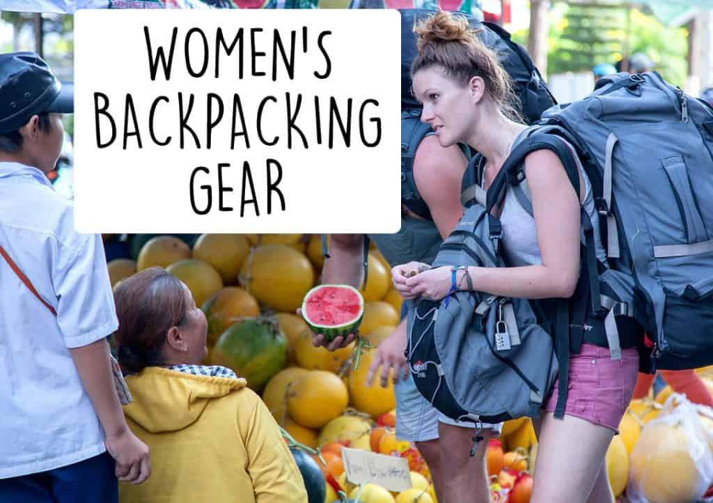 Women's Backpacking Checklist Thailand