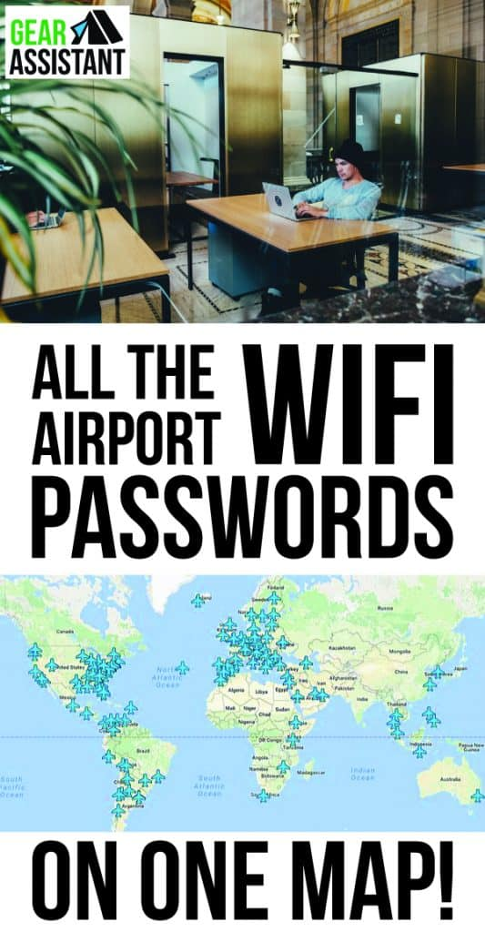 all the wifi passwords from airports around the world list