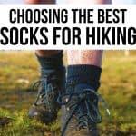 choosing the best hiking socks