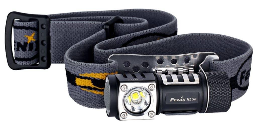Fenix HL50 best headlamps for backpacking