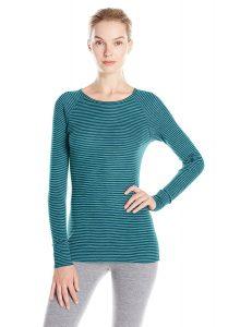Ibex Outdoor Clothing Women's Woolies base layer shirt