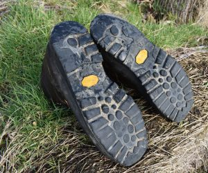 Meindl Burma hiking boots Review soles after 6 years