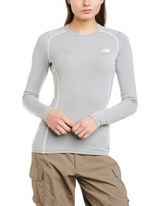 North Face Warm L S Crew Neck Womens Base Layer Top