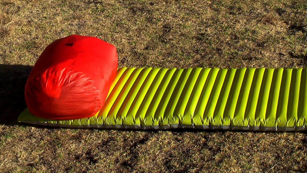 Best backpacking sleeping pad with pillow