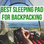 Best backpacking sleeping pad for travel
