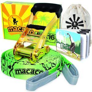 Macaco Slackline 16 Metre and Booklet