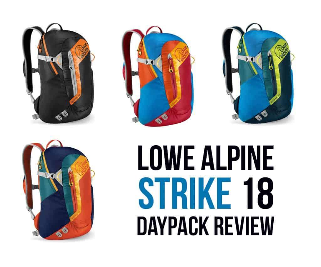 Lowe Alpine Strike 18 review backpack