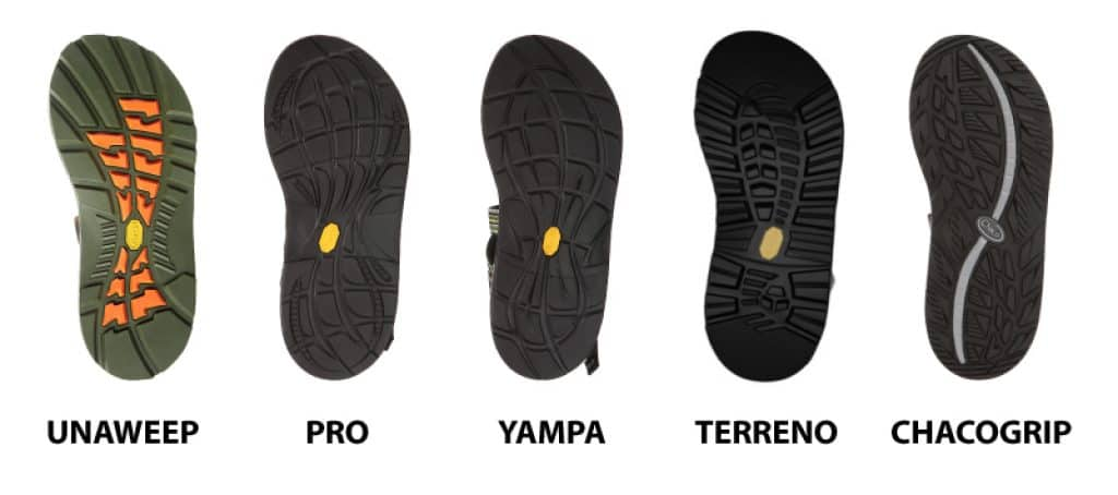 Best Chaco Soles for hiking guide