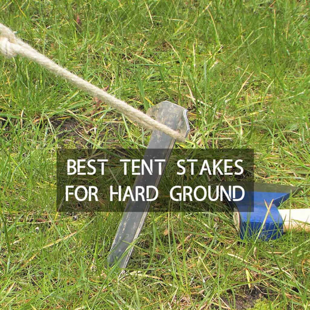 MSR Groundhog Tent Stakes Pegs 6 Pack lightweight 13g Strong Backpacking Camp