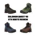 Salomon Quest 4D GTX Boots Feature