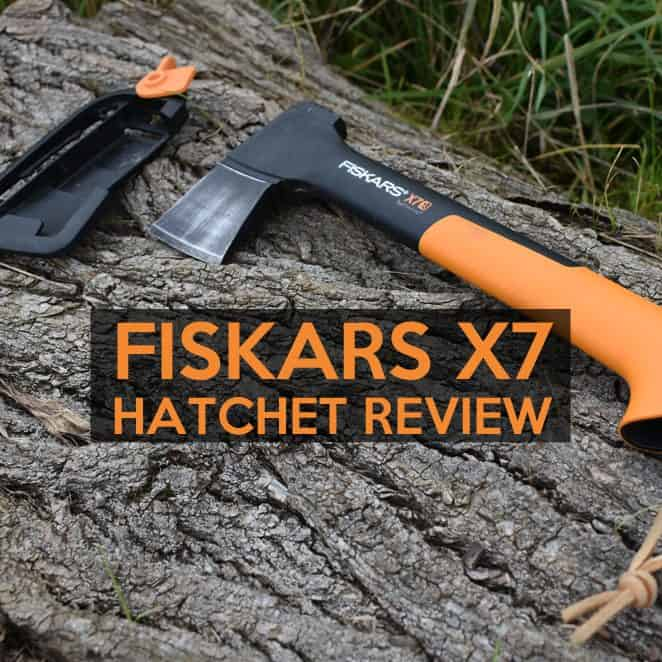 fiskars x7 hatchet review compact camping axe review. Black Bedroom Furniture Sets. Home Design Ideas