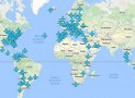 All the Wifi Passwords for Airports Around the World on One Map